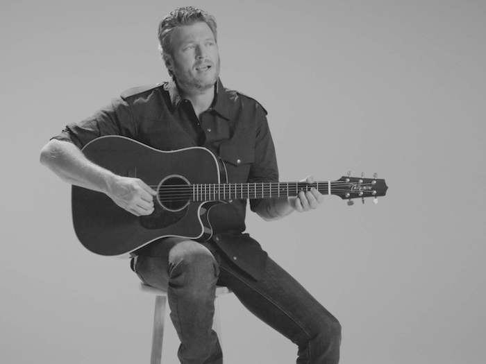 Blake Shelton Savior's Shadows Ghost Atomic Pictures